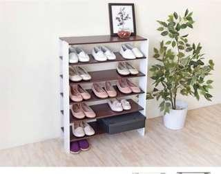 加寬開放式鞋櫃