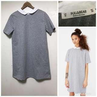 pull & bear collared dress