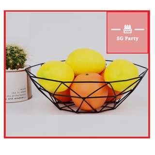Minimalistic fruit bowl nordic bowl snack basket modern