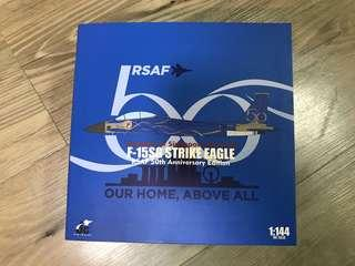 🚚 JC Wings F-15SG RSAF 50th Anniversary Edition scale 1:144
