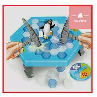 🚚 Penguin ice block breaker game Balance penguin大号破冰企鹅玩具