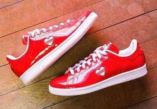 [PO] Adidas Originals Stan Smith Valentine Day Women's shoes in Red