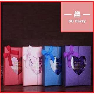 🚚 Flower box 16 soap flower bouquet box ribbon日本购。香皂玫瑰花礼盒创意教闺蜜男女朋友生日礼物师节礼品七夕