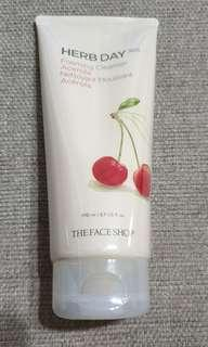 The Face Shop Herb Day Foaming Cleanser
