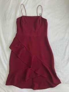 Dollhouse Mini Ruffle Dress
