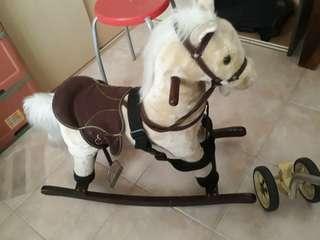 🚚 Rocking wooden horse