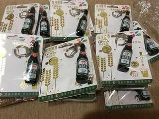 🚚 全新現貨💥金牌台灣啤酒3D造型悠遊卡  酒瓶造型 感應會發光 ⚡️限量商品⚡️10入一組