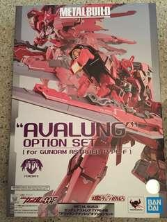 Metalbuild Avalung Option Set for Gundam Astraea Type-F