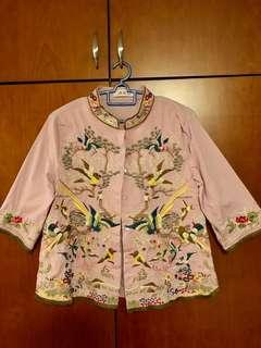 🚚 Blouse with Exquisite Chinese embroidery