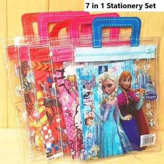 Goodies Bag! 7 in 1 Stationery Set