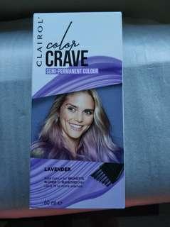 Clairol Color Crave Lavender 60ml NEW