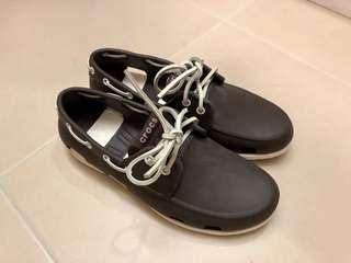 Crocs Beach Line Boat Shoes (啡色)