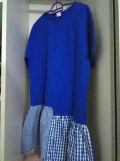 Blue Dress #dressforsuccess30
