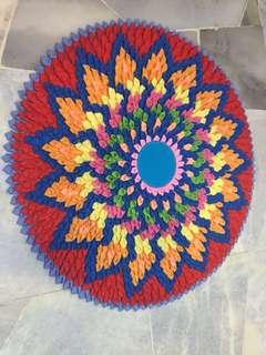 Crochet/ floor mat