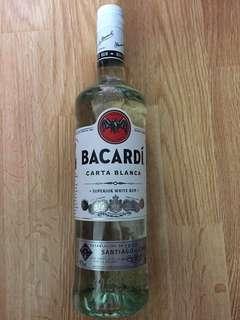 Bacardi.     750ml