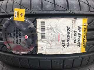 205/55R16 Dunlop Sport LM704