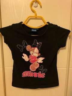 Disney Minnie黑色上衣