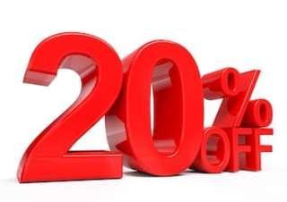Disc 20%