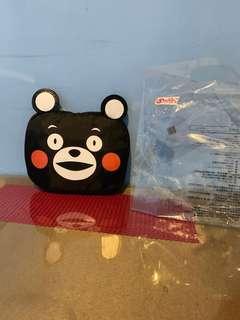 全新 熊本 收納購物袋