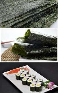 🚚 Sushi Nori/Seaweed full size (50 pieces per pack)