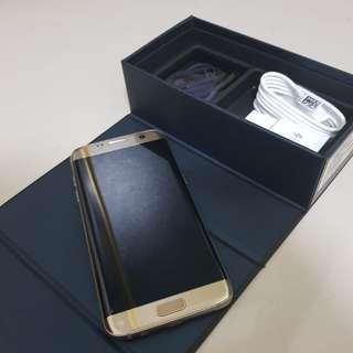 🚚 三星S7 EDGE 香檳金 32G 無傷 功能正常 無烙印
