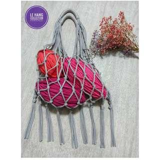 👜Eco Friendly Bag/ Macrame bag👜