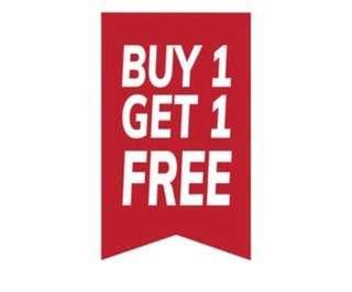 Buy 1 get 1 free kerudung/ pashmina