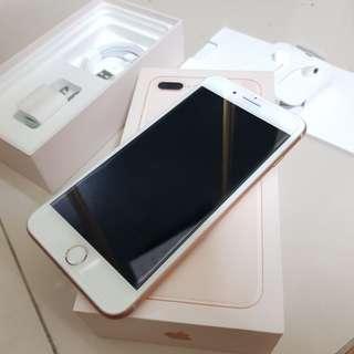 可貼換 iphone 8 PLUS【 256G 】完全無傷 功能正常 配件都未使用 如圖