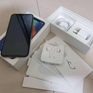 🚚 可貼換 iphone X 【256G】 功能完全正常 外觀9成新 盒裝 配件如圖