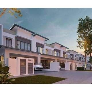 New Luxury Double Storey 22x75 For Sale, Cyberjaya!