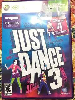 Xbox 360 just dance 3