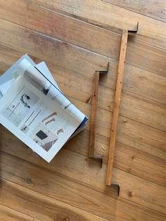 木製 長型 吊架