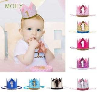 Baby Birthday Hat One Year Old