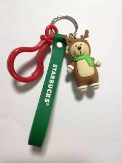 Buy 1 Free 1 - Starbucks Key Chain Reindeer 🐻