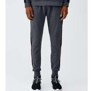 Pull & Bear Jogging trousers with side band