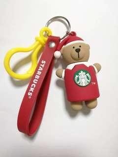Buy 1 Free 1 - Starbucks Key Chain Santa Bear