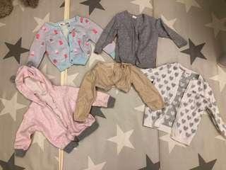 🚚 Baby Girl's cardigan (bundle)