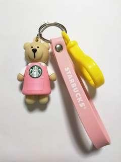 Buy 1 Free 1 - Starbucks Key Chain Pink Apron 🐻