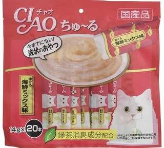 ciao 貓 醬 肉 一包20條