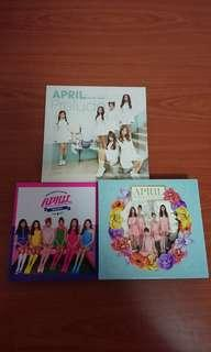 🚚 April album with PC Spring / Prelude / Mayday