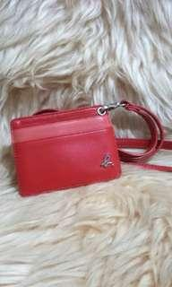 🚚 Auth Agnes B Leather Lanyard
