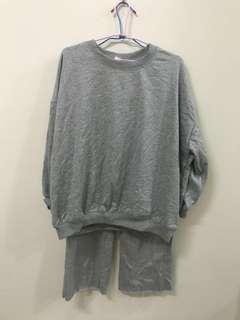 灰色運動套裝