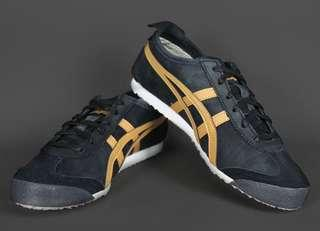 [PO] Asics Onitsuka Tiger Mexico 66 Running Shoes in Black
