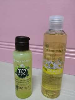 Yves Rocher Shampoo/ Calmille Cleansing Gel