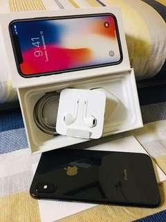 iPhone X 64 GB Singapore Garansi International