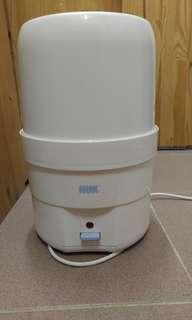 NUK 奶樽消毒器 蒸奶瓶 七乘新,放售兩天