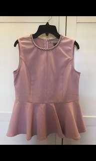 L'ZZIE Pink top