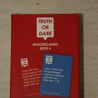Kartu Games Truth or Dare by Hazergames