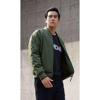🚚 全新 Adidas dz2429 軍綠刷毛棒球外套 原價4290