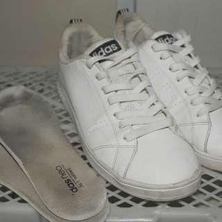 Sepatu Adidas Neo Advantage White Original